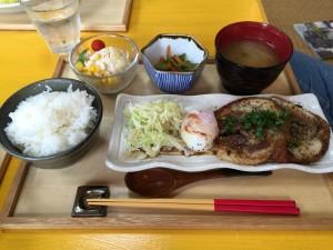 チャーシュー定食 (1)