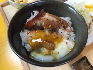 チャーシュー定食 (2)
