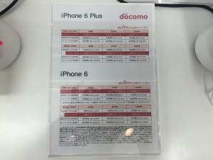 docomo iPhone 6 Plus (2015/06/05)
