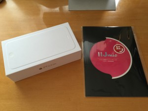 iPhone 6 Plus (SIM フリー) + IIJmio